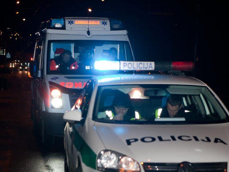 Naktinio konflikto metu sužaloti du sostinės pareigūnai