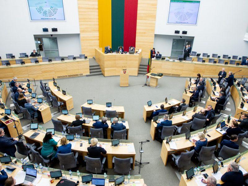 (Ne)vilties Seimas: nuo politinės meilės iki politinės neapykantos – vienas žingsnis?
