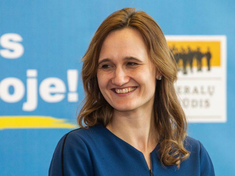 V. Čmilytė-Nielsen: valdantieji tiesiog ieško, kuo užpildyti Seimo pirmininko etatą