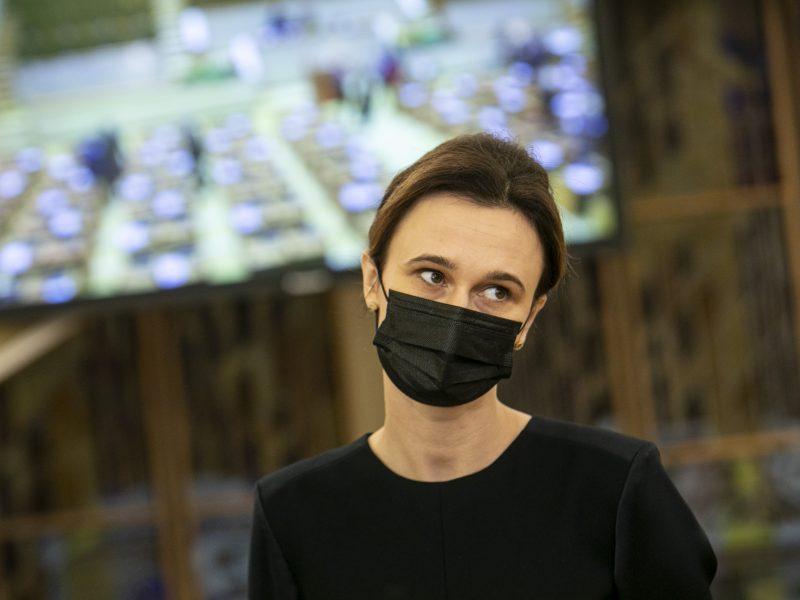 Seimo pirmininkė surengė diskusiją apie smurtą prieš moteris: reikia kovoti kasdien