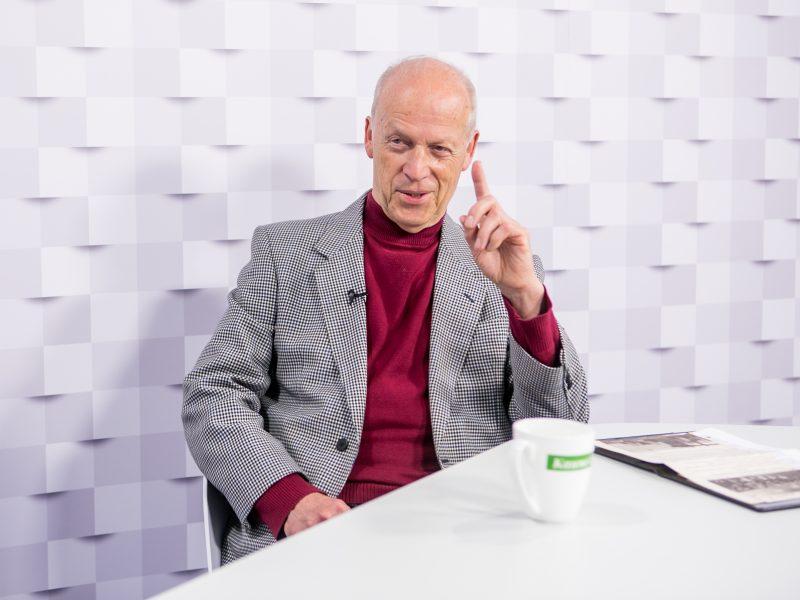 """""""Kauno dienos"""" studijoje – ceremonmeisteris K. Ignatavičius: Rotušėje negali būti tik biurokratu"""