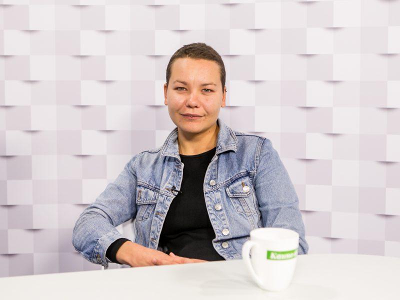 """""""Kauno dienos"""" studijoje – pokalbis su """"Kaunas Pride"""" eitynių organizatore V. Kolbešnikova"""