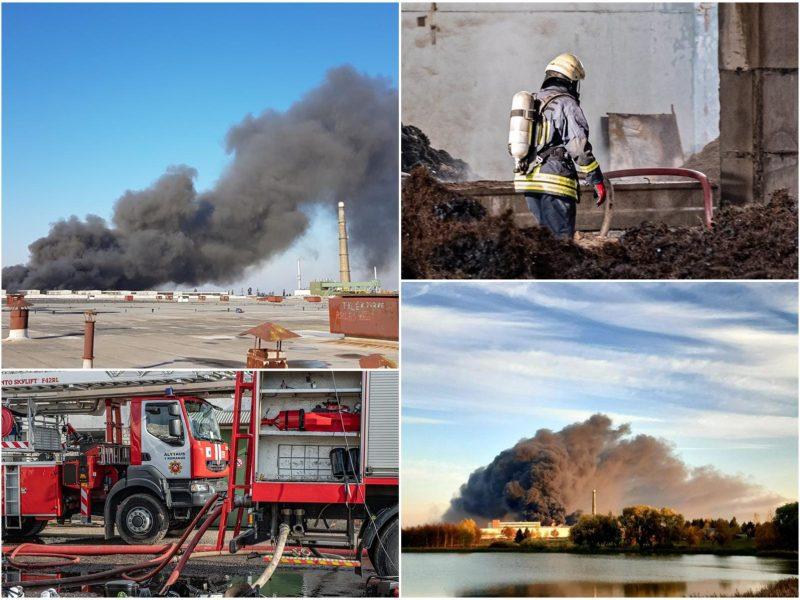 """Teismas imasi 92 tomų """"Ekologistikos"""" gaisro bylos: kaltinami septyni asmenys"""