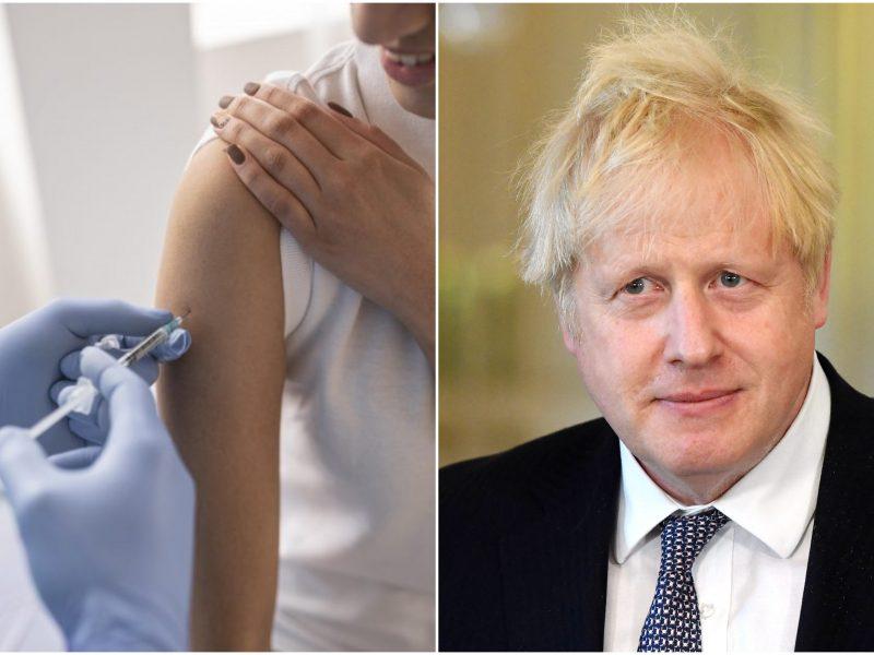 Britų premjeras: iki 2022-ųjų pabaigos turi būti paskiepyti visi pasaulio gyventojai