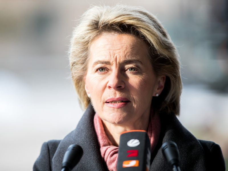 Lietuvoje lankosi Vokietijos gynybos ministrė