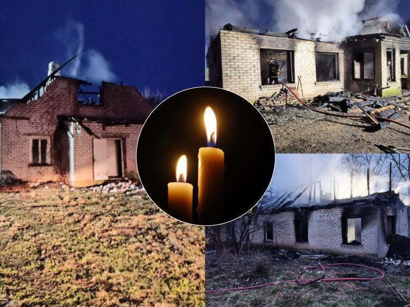 Keturias gyvybes nusinešęs gaisras Anykščių rajone: papasakojo, kas dėjosi įsisiautėjus liepsnoms