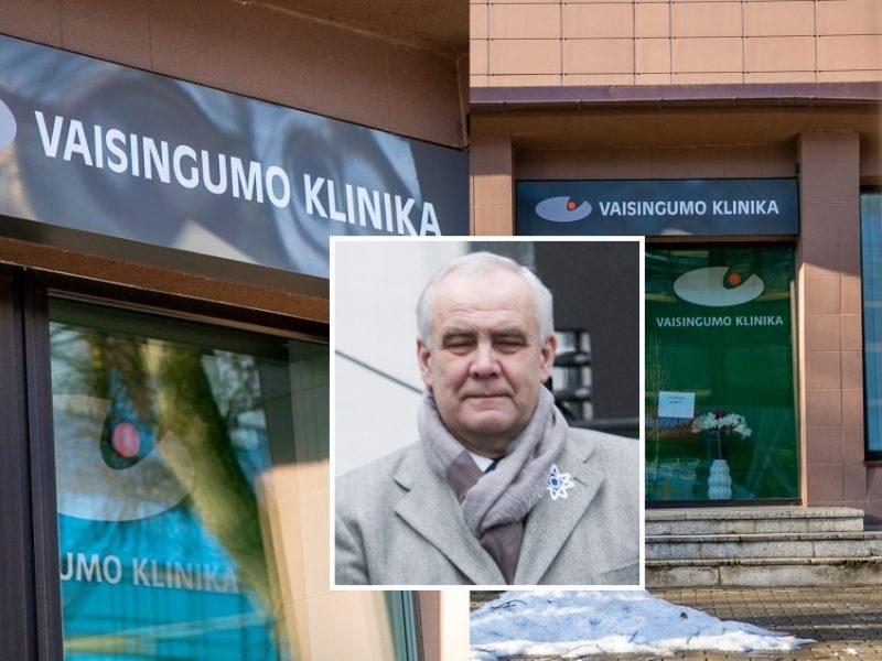 """Krečiama A. Usonio vadovaujama """"Vaisingumo klinika"""": galėjo būti neapskaityta apie milijonas eurų"""
