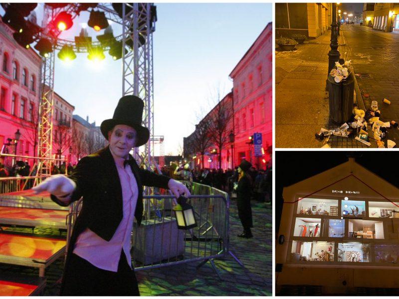 Klaipėdos šviesų festivalyje – žmonių jūra: nuomonės išsiskyrė