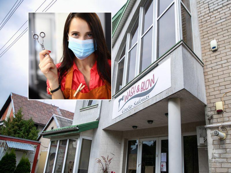 """COVID-19 protrūkis grožio salone Kaune: viskas prasidėjo nuo """"Adform kiemelio"""""""