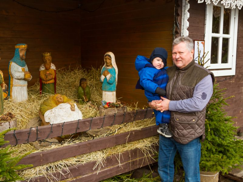 Dar galima aplankyti Kauno kalėdinę prakartėlę