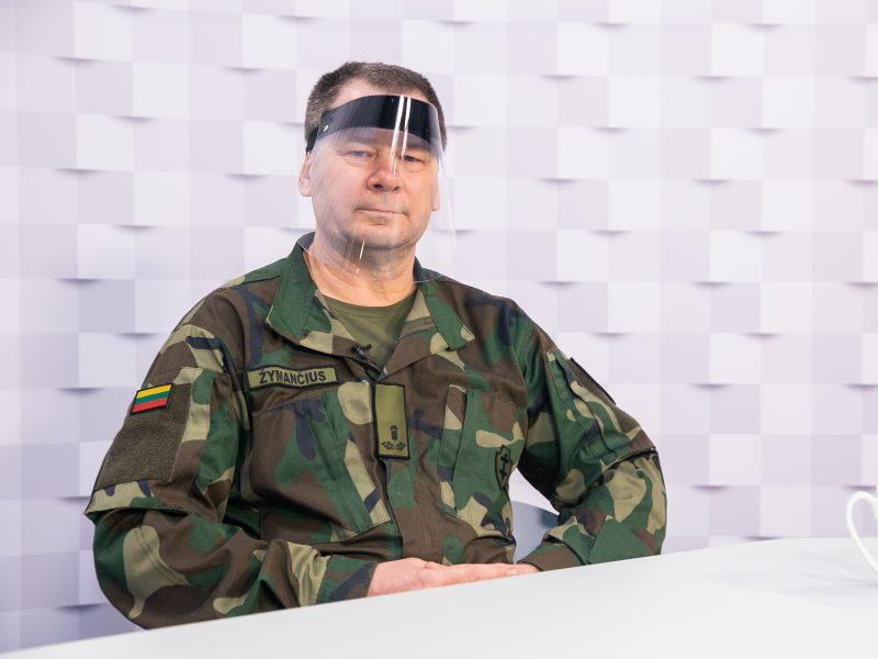 """""""Kauno dienos"""" studija: ats.kpt. V. Žymančius – apie grąžintą skolą Tėvynei"""