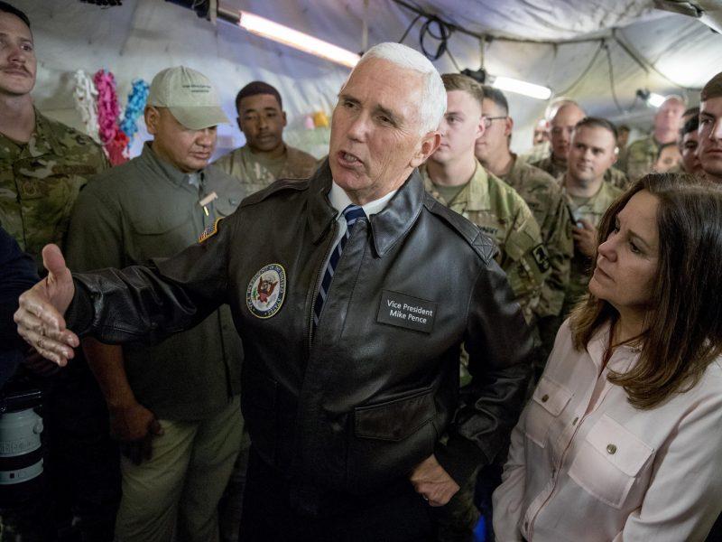JAV viceprezidentas su Irako vadovais nesusitiks