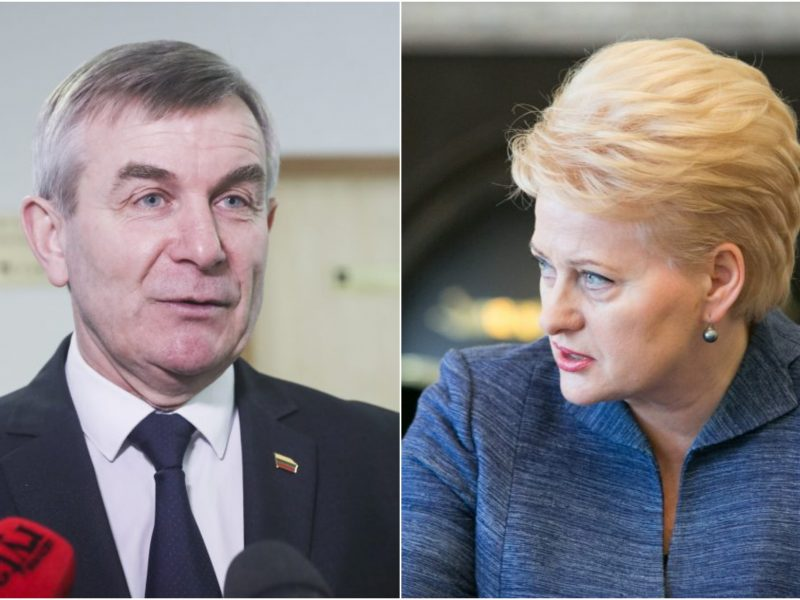 D. Grybauskaitė apie spaudimą V. Pranckiečiui: tai politinės menkystės fiesta