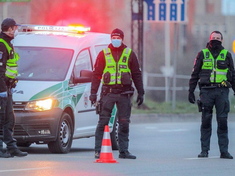 Nuo pandemijos pradžios VRM sistemos pareigūnų priedams skirta daugiau kaip 16 mln. eurų