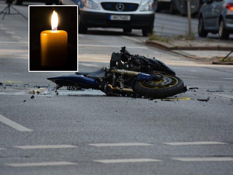 Sulaikytas vyras, įtariamas per avariją pražudęs motorolerio vairuotoją