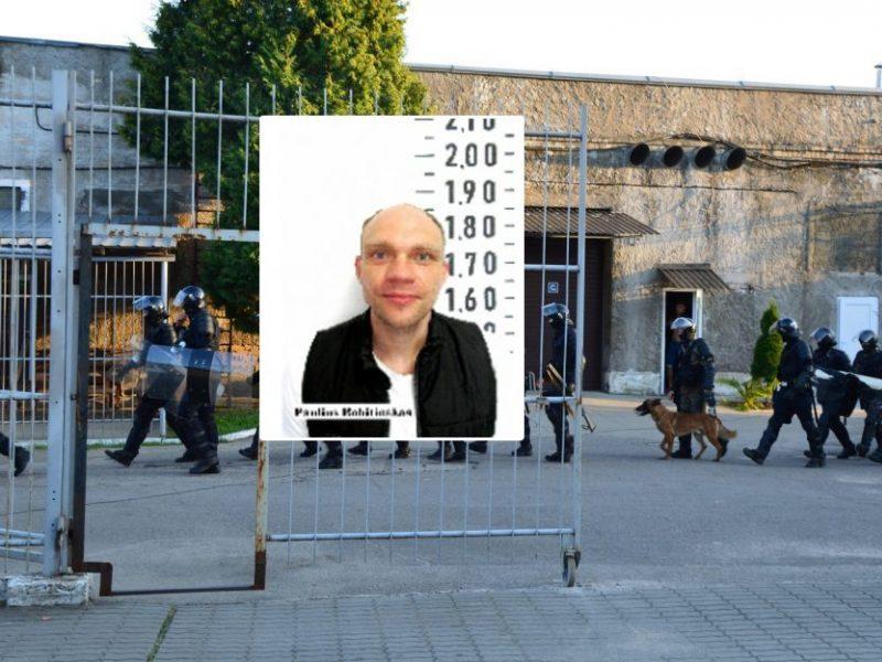 Iš darbo pasišalinęs nuteistasis sulaikytas Kaune