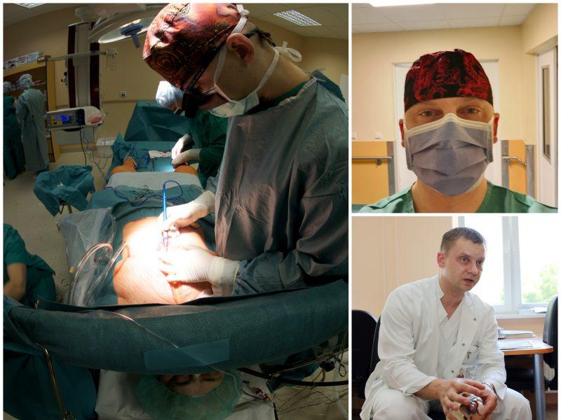 Kardiochirurgas: išauginti biologinę širdį kol kas neįmanoma