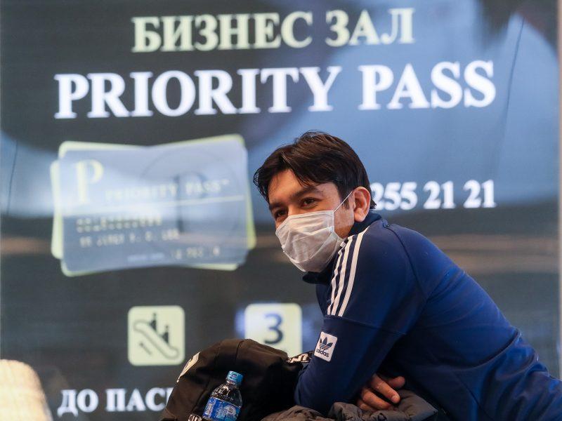 Rusija nuo penktadienio stabdo visus tarptautinius skrydžius