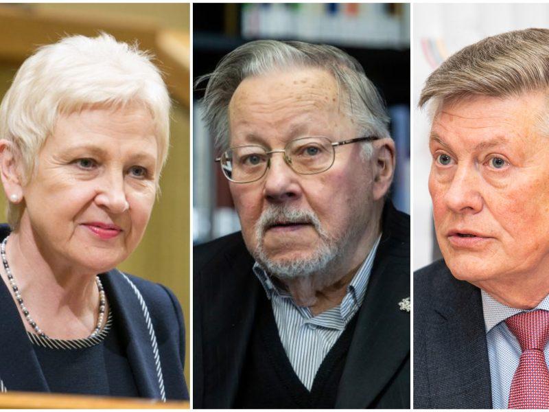 Buvę Seimo pirmininkai per pandemiją pasigenda parlamento vaidmens