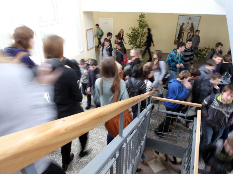 Dėl koronaviruso rekomenduoja mokykloms atidėti šimtadienius ir kitas šventes