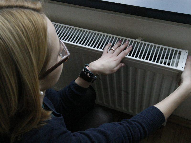 Dalis klaipėdiečių savo butuose pasigenda šilumos