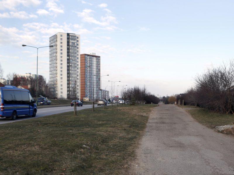 Pradėjo projektuoti naują gatvę