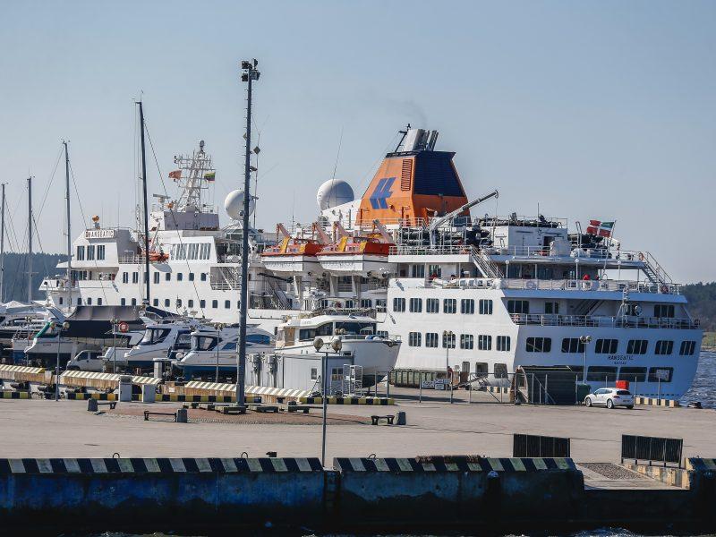 Kruiziniai laivai atsisveikino su Klaipėda