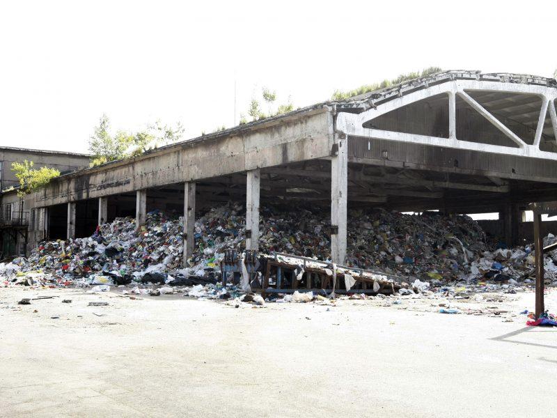Atliekos miesto centre: sutarta dėl išsikraustymo