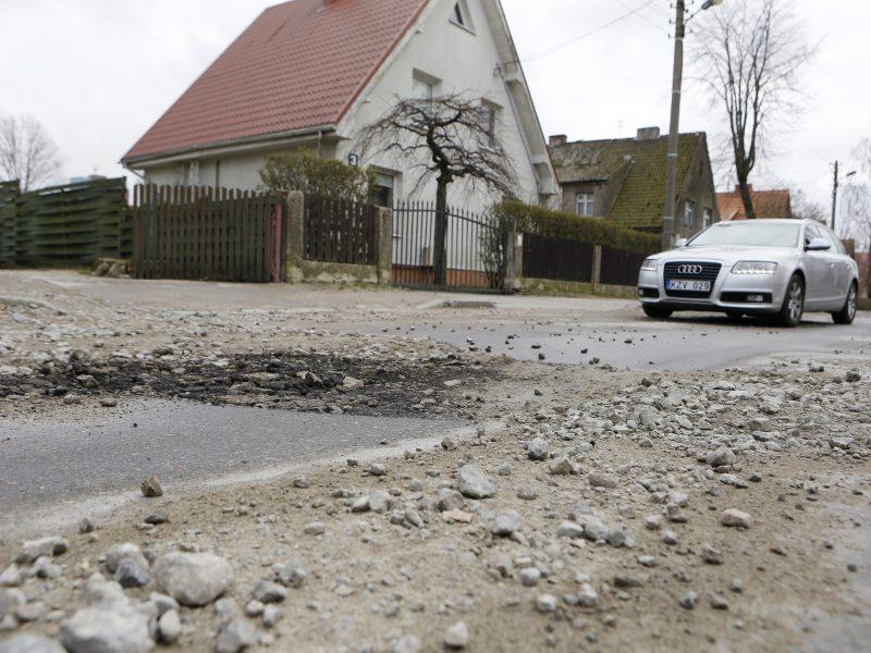 Dėl gatvės likimo Klaipėdoje – nerimas