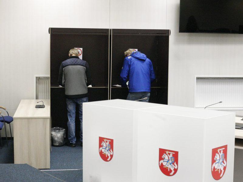 Virusas pakeis ir rinkimų tvarką: ministerija siūlo pakeitimų