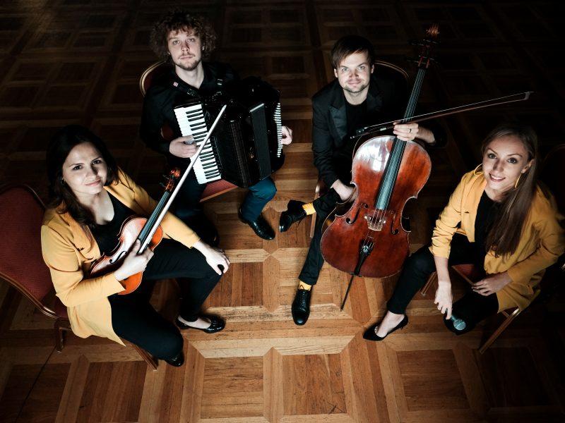Vasaros koncertų ciklas: nuo kino iki aranžuotų lietuvių liaudies dainų