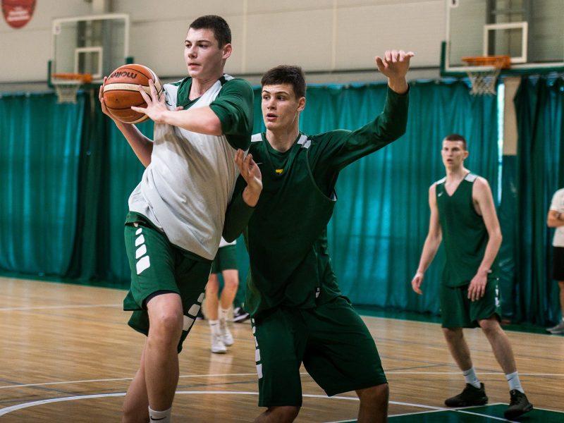Paaiškėjo krepšininkų dvyliktukas EJOF turnyrui