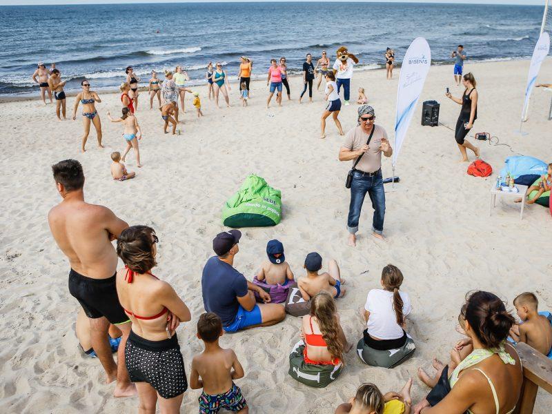 Antrosios Melnragės pliaže – edukacija vaikams