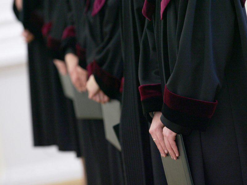 Teismas: pažintimi pasinaudojusi teisėja nuteista pagrįstai