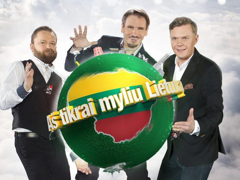 """Sugrįžta žvaigždžių varžytuvės """"Aš tikrai myliu Lietuvą"""""""