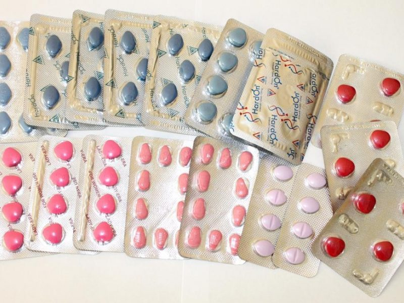 vitaminai, gerinantys erekciją