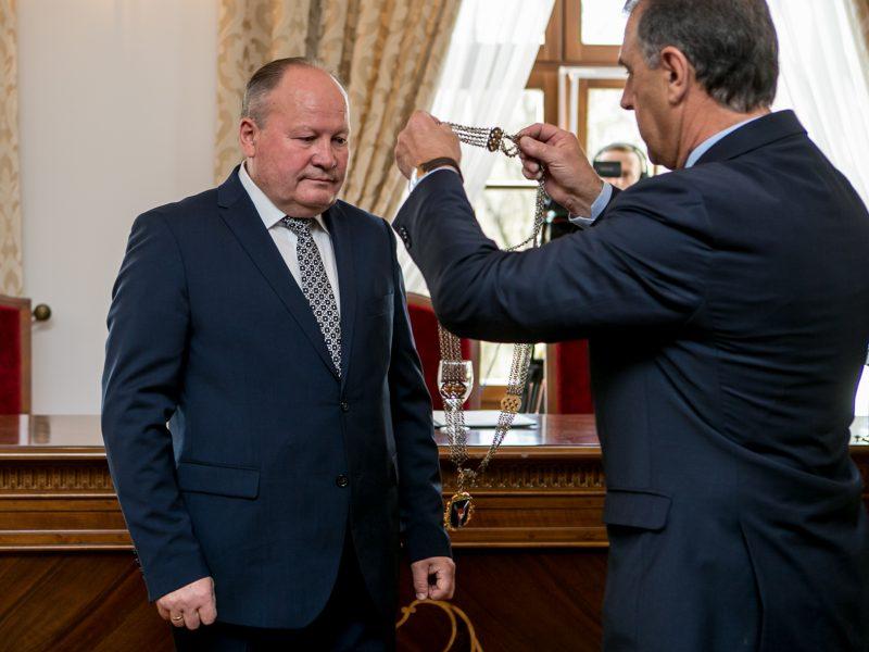 Inauguruotas Kauno rajono meras, darbą pradėjo taryba