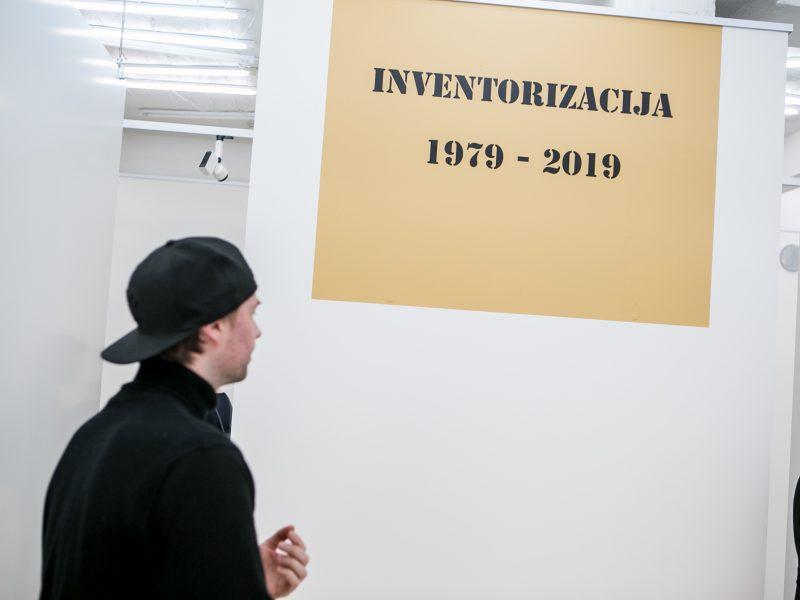 Inventorizacija 1979-2019 Kauno fotografijos galerijoje