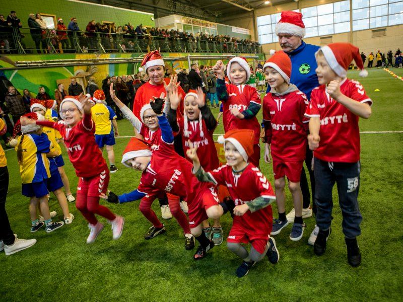 Futboliuko Kalėdos Kaune