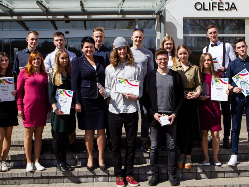 Europos jaunimo olimpinio žiemos festivalio sportininkų pagerbimas