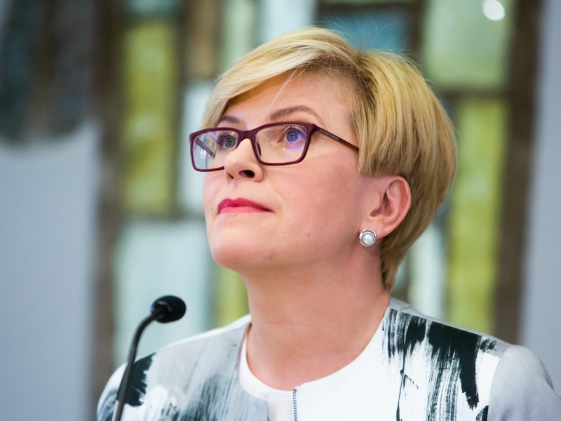 Seimas pradėjo diskusijas dėl I. Šimonytės kandidatūros į premjerus