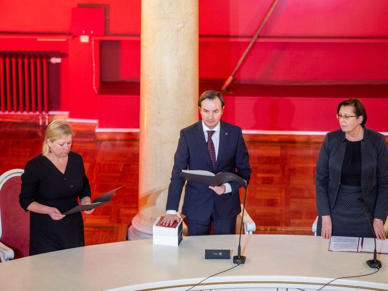Naujojo Vilniaus universiteto rektoriaus priesaika