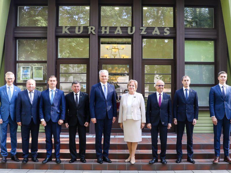 G. Nausėdos susitikimas su Kauno regiono merais