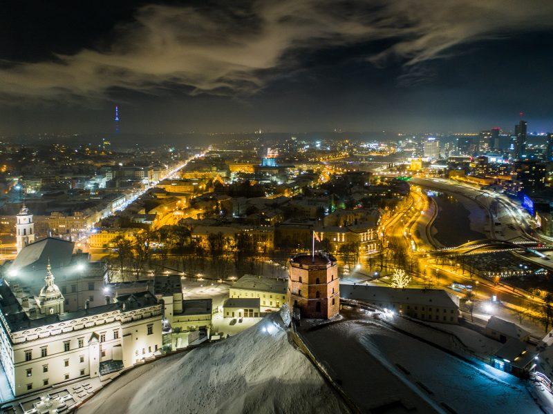 Žiemiškas Vilnius