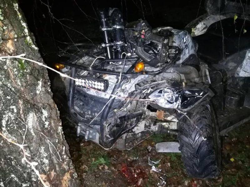 Klaipėdos rajone keturračio avarija nusinešė vyro gyvybę