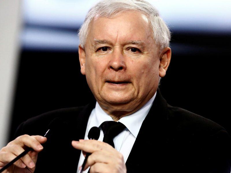 J. Kaczynskis pasisakė prieš Lenkijos prisijungimą prie euro zonos