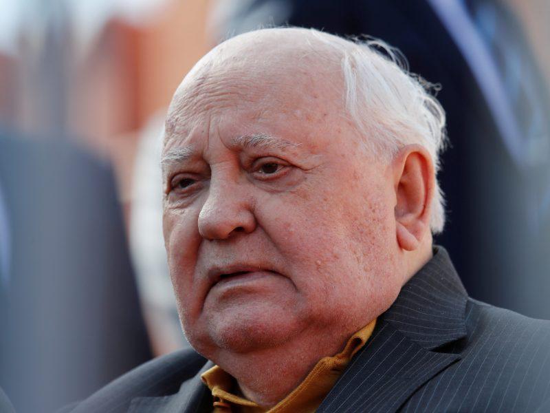 M. Gorbačiovas nesigaili pradėjęs pertvarką