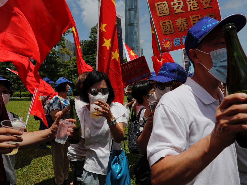 Kinija priėmė kontroversišką Honkongo saugumo įstatymą