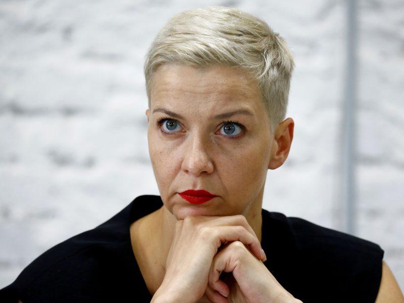 Baltarusijos opozicionierei M. Kalesnikavai pratęstas areštas