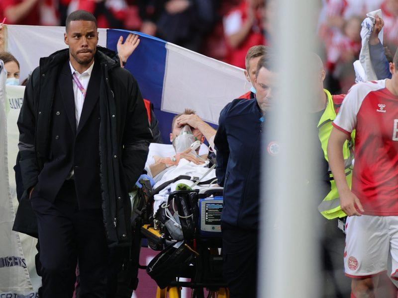 Danijos futbolo komandos gydytojas patvirtino, kad Ch. Eriksenui buvo sustojusi širdis